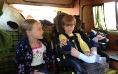 Kids in Van