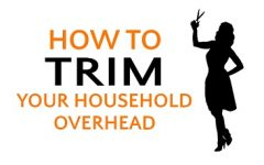 How to Trim Your Household Overhead | Emily Capito, LSCW, MBA