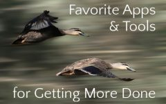 Favorite Productivity Apps & Tools | Leaving the Herd