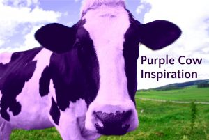 Purple Cow Inspiration | Leaving the Herd