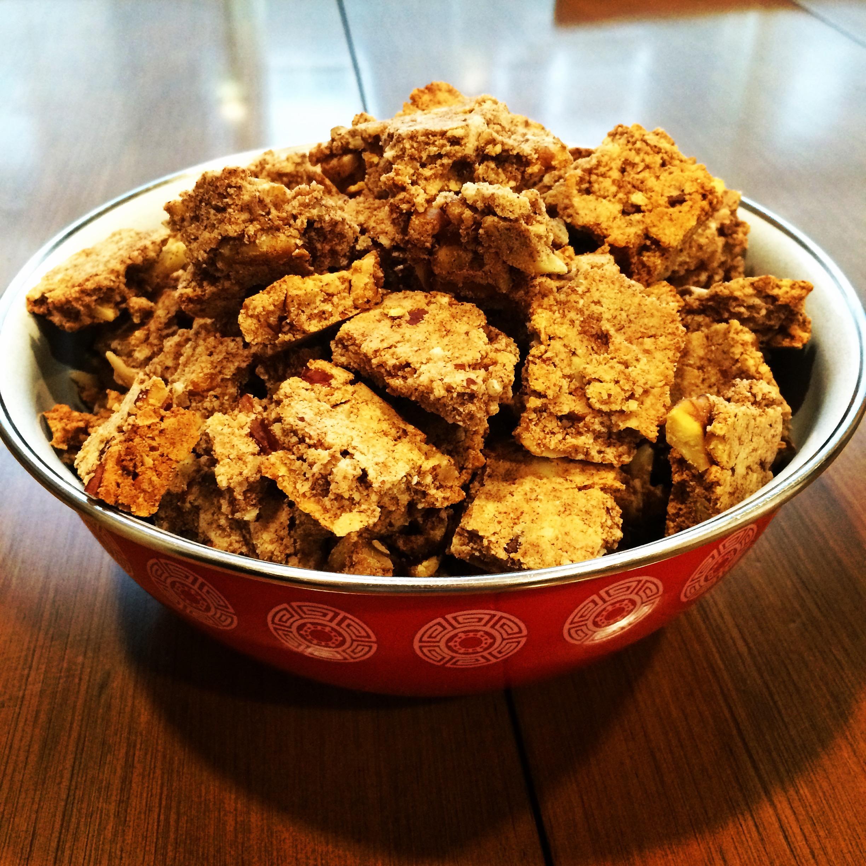 Nutty Low Carb Granola Recipe