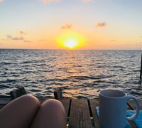 Belize Sunrise - Solo Travel